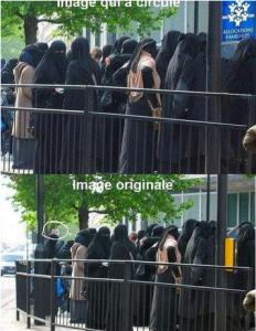 Image de propagande FN